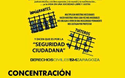 Movilización contra el Congreso en Huesca.   Por la Sanidad Pública.