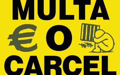 Dos jóvenes se enfrentan a siete meses de prisión.  Denunciamos la  represión al movimiento estudiantil.