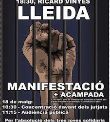 Actualización ¡Contra la criminalización del apoyo a personas presas!