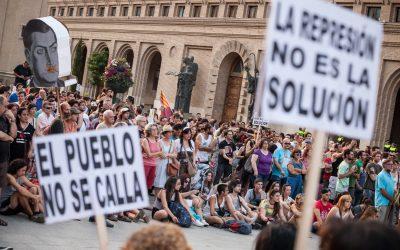 Manifiesto de Zaragoza por la disolución de la UAPO y contra la represión