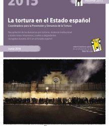 Informe 2015: la tortura en el Estado Español