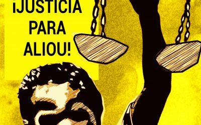 Concentración, ¡Justicia para Aliou!, 18 de Julio, a las 20 h. en la Pza España