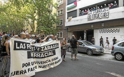 Piden tres años de cárcel para otro antifascista por los altercados tras el concierto nazi del Hogar Social.