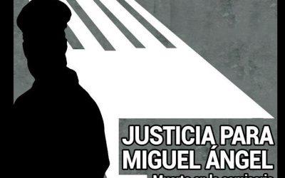 Concentración: 28 de Febrero, 19 h. Plaza de España #JusticiaParaMiguelAngel… Y van 17.