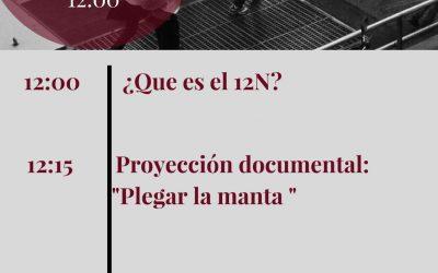 12N Sin Racismo Zaragoza, el 2 de Junio, en el CSC Luis Buñuel.