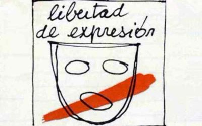 No más mordazas, ¡libertad de expresión!