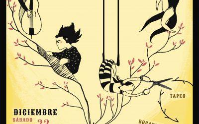 Cabaret por la Libertad, el 22 de Diciembre en el CSC Luis Buñuel.