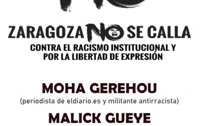 Novedades en la Campaña #ZaragozaNoseCalla