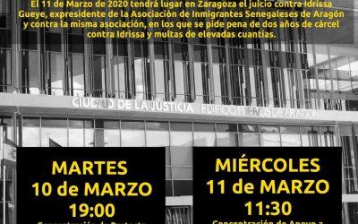 Manifiesto: Todos y todas somos Idrissa #ZaragozaNoSeCalla